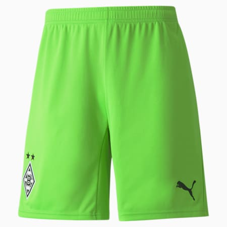 BMG Replica Men's Goalkeeper Shorts, Jasmine Green, small