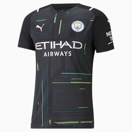 Réplica de camiseta de arquero Manchester City para hombre, Puma Black-Puma White, pequeño