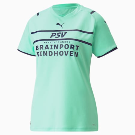 Maillot PSV Third Replica Femme 21/22, Green Glimmer-Astral Aura, small