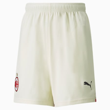 ACM Away Replica Youth Football Shorts 21/22, Afterglow-Tango Red, small-GBR