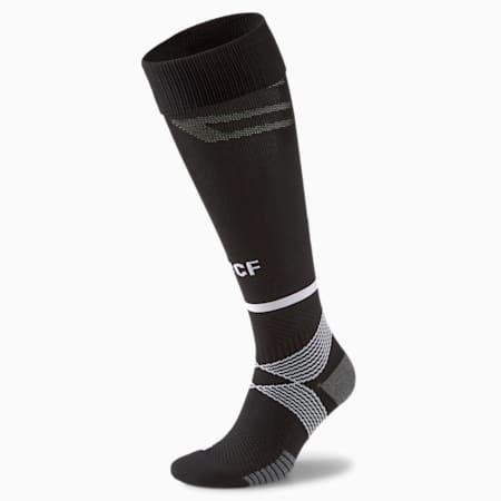 Chaussettes de football à bandes Valence CF Replica homme 21/22, Puma Black-Puma White, small