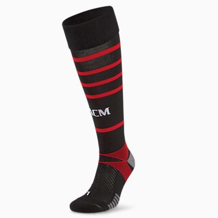 Calze da calcio ACM Replica Hooped uomo, Puma Black-Tango Red, small
