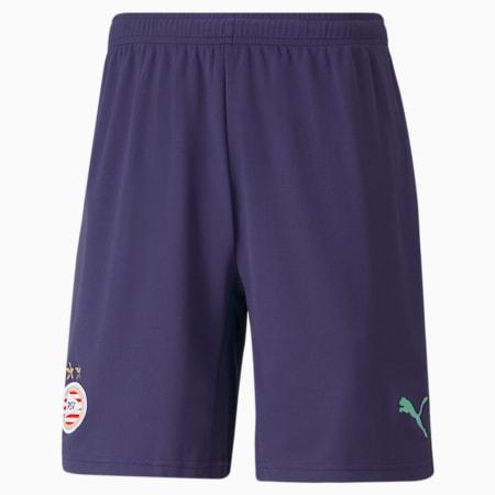 PSV Away Replica Men's Football Shorts, Astral Aura-Green Glimmer, small