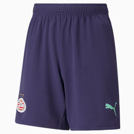 PSV Away Replica Youth Football Shorts, Astral Aura-Green Glimmer, small