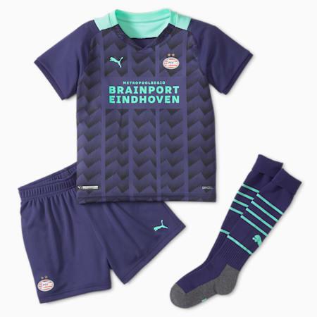 PSV Jugend Auswärtsspiel-Mini-Kit, Astral Aura-Green Glimmer, small