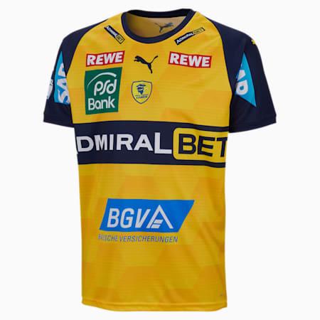 Młodzieżowa koszulka domowa Rhein-Neckar Löwen, Cyber Yellow-Peacoat, small