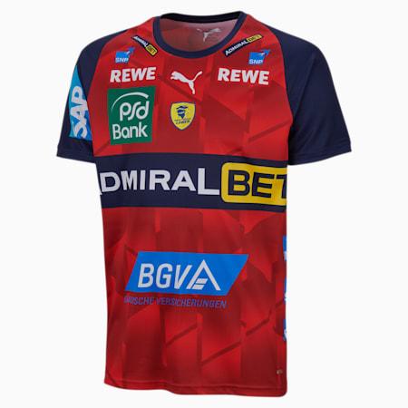 Rhein-Neckar Löwen derde shirt voor jongeren, Chili Pepper-Peacoat, small