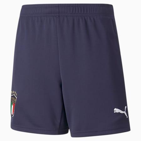 Shorts juveniles réplica de la 2.ª equipación de la FIGC, Peacoat-Puma White, small