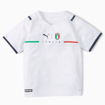 FIGC uittenue kinderen, Puma White-Peacoat, small