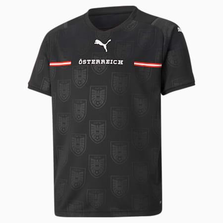 Młodzieżowa replika koszulki wyjazdowej reprezentacji Austrii, Puma Black, small