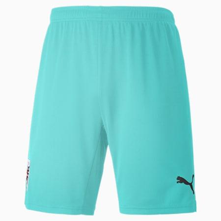 Austria Away Replica Men's Shorts, Blue Turquoise, small