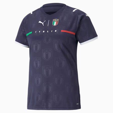 Maglia da portiere FIGC Away Replica donna, Peacoat-Puma White, small