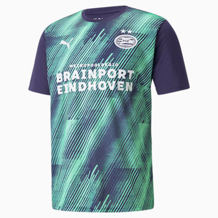 Maillot avant-match PSV Homme, Astral Aura-Green Glimmer, small
