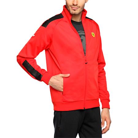 Scuderia Ferrari Men's Track Jacket, Rosso Corsa, small-IND