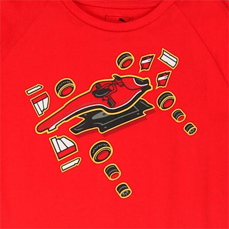 Scuderia Ferrari Kids Graphic T-Shirt, Rosso Corsa, small-IND