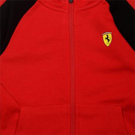 Ferrari  Kids' Hooded Sweat Jacket, Rosso Corsa, small-IND