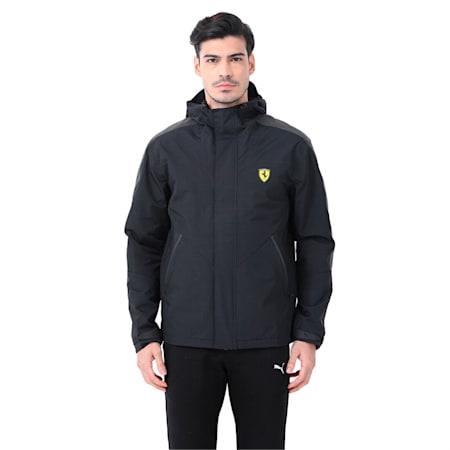 Scuderia Ferrari TranScuderia Ferrariorm Men's Jacket, Puma Black, small-IND