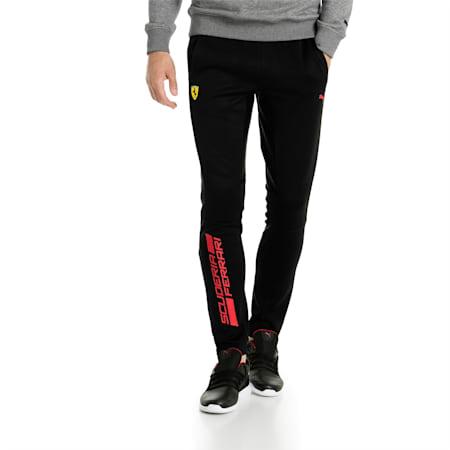 Ferrari Men's Track Pants, Puma Black, small-SEA