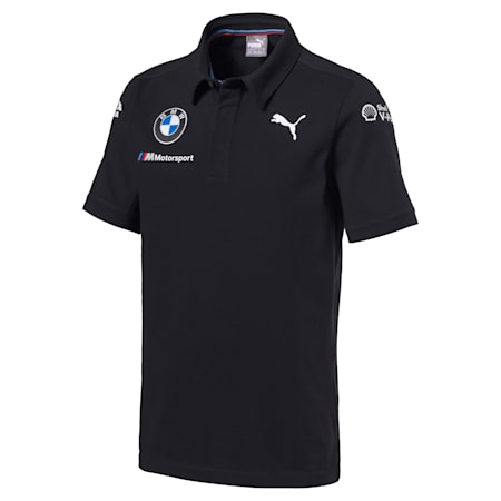 BMW Motorsport Men's Team Polo, Anthracite, small