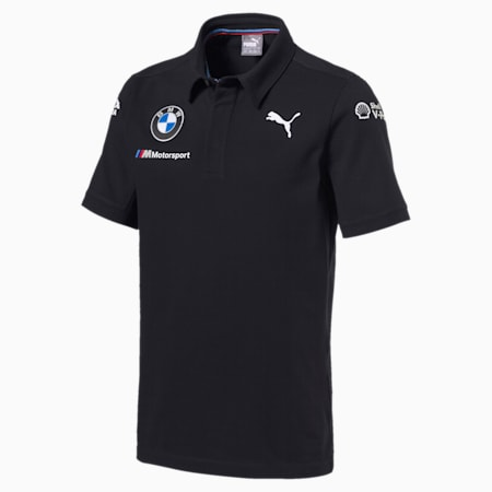BMW Motorsport Men's Team Polo, Anthracite, small-GBR
