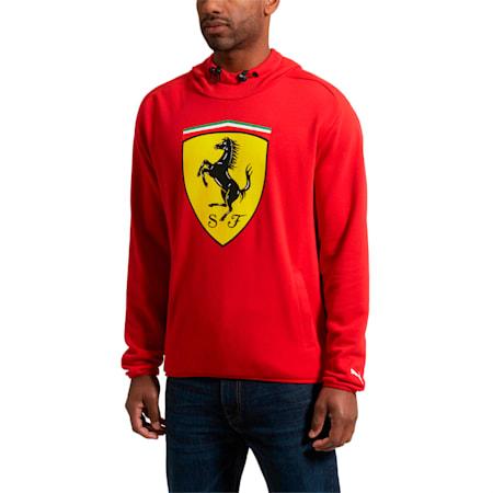 Scuderia Ferrari Big Shield Hoodie, Rosso Corsa, small-SEA