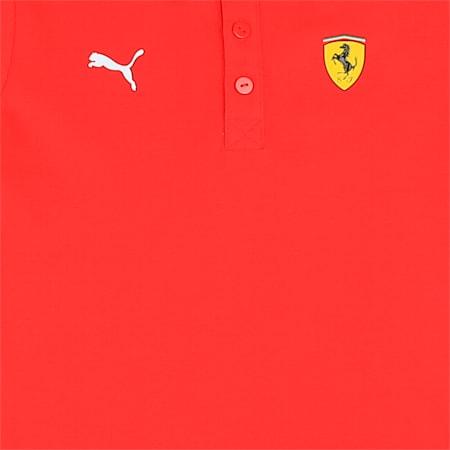 Scuderia Ferrari Kid's Polo Shirt, Rosso Corsa, small-IND