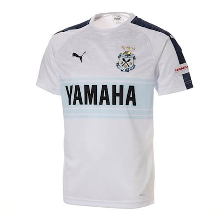 ジュビロ 19 アウェイ 半袖 ゲームシャツ, Puma White Heather, small-JPN