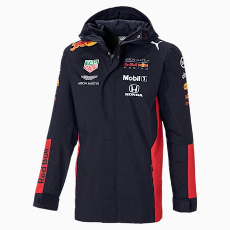 Red Bull Racing Herren Team Regenjacke mit Kapuze | NIGHT