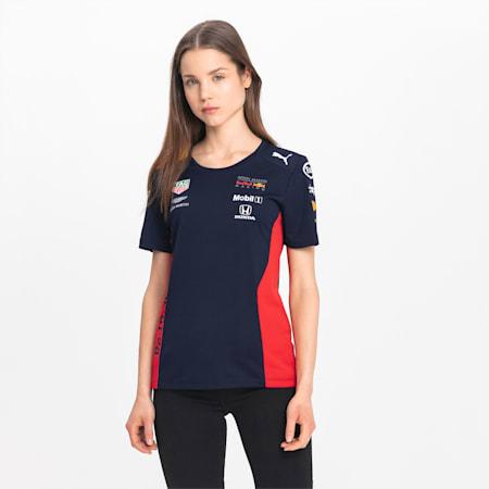 Red Bull Racing Team T-shirt voor dames, NIGHT SKY, small
