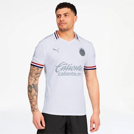 Réplica de camiseta alternativa del Chivas 2019, Puma White, pequeño