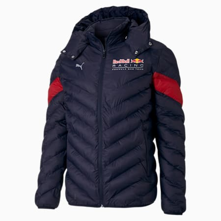 Red Bull Racing MCS EcoLite Men's Down Jacket, NIGHT SKY, small