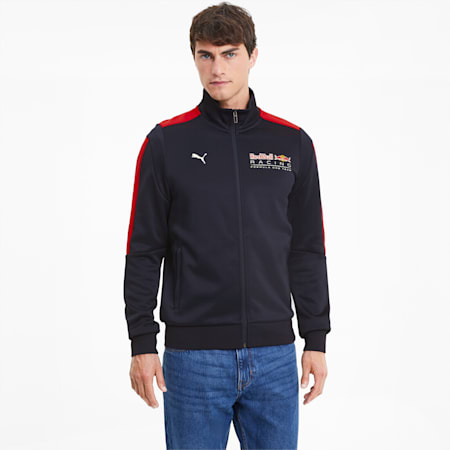 Red Bull Racing T7 Men's Track Jacket, NIGHT SKY, small-SEA