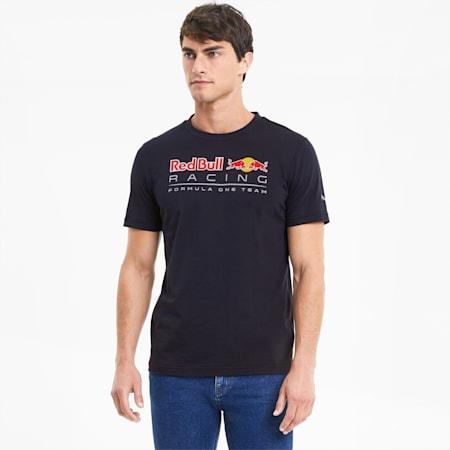 Red Bull Racing Logo T-shirt voor heren, NIGHT SKY, small