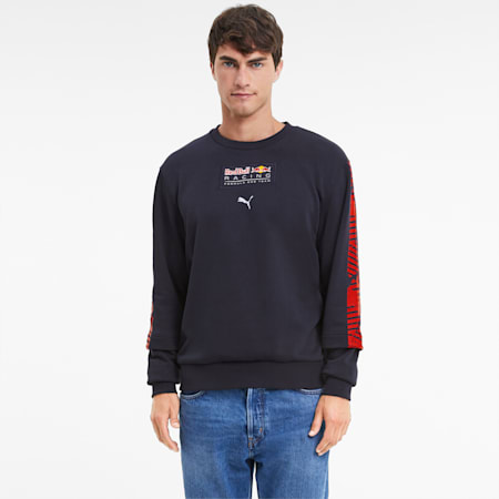 Red Bull Racing Graphic Men's Midlayer, NIGHT SKY, small-IND