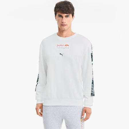 Red Bull Racing Graphic Men's Midlayer, Puma White, small-IND