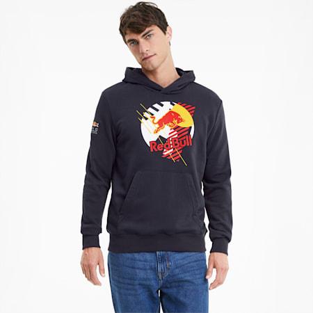 Red Bull Racing Dynamic Bull hoodie voor heren, NIGHT SKY, small
