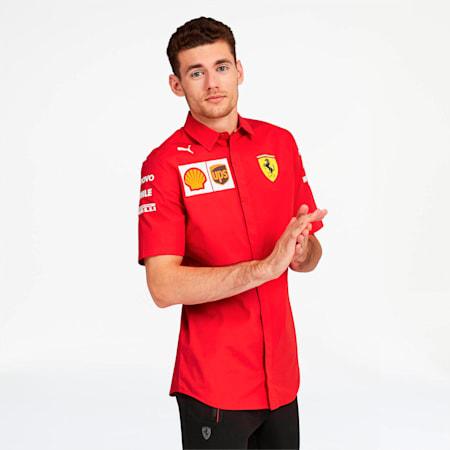 Camiseta del equipo Scuderia Ferrari para hombre, Rosso Corsa-sin Logo MW, pequeño