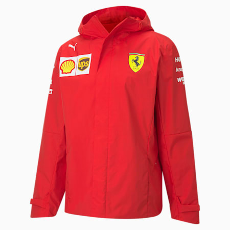 Scuderia Ferrari Men's Team Jacket, Rosso Corsa, small