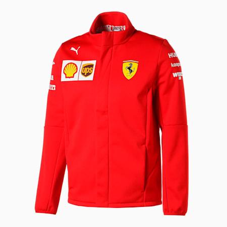 フェラーリ チーム ソフトシェル ジャケット, Rosso Corsa, small-JPN
