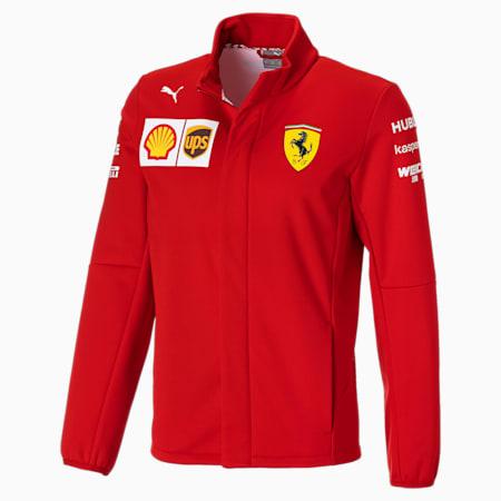 Scuderia Ferrari Men's Team Softshell, Rosso Corsa, small