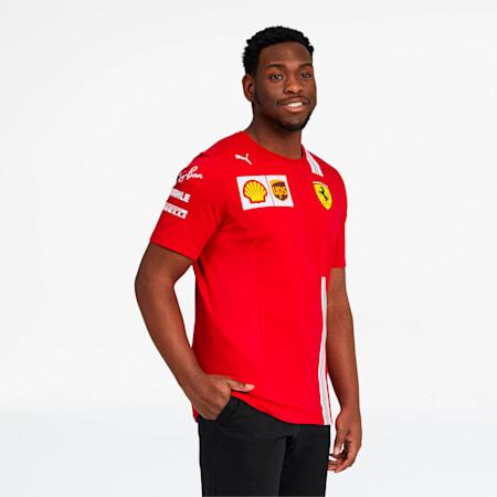 Camiseta del equipo Scuderia Ferrari para hombre, Rosso Corsa, pequeño