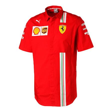 フェラーリ チーム シャツ 半袖, Rosso Corsa, small-JPN