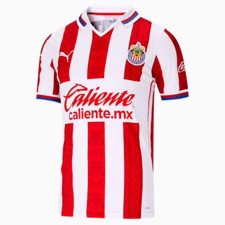 Chivas 2020/21 Men's Home Replica Jersey, Puma Red, small
