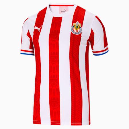 Chivas 2020/21 Men's Home Fan Jersey, Puma Red, small