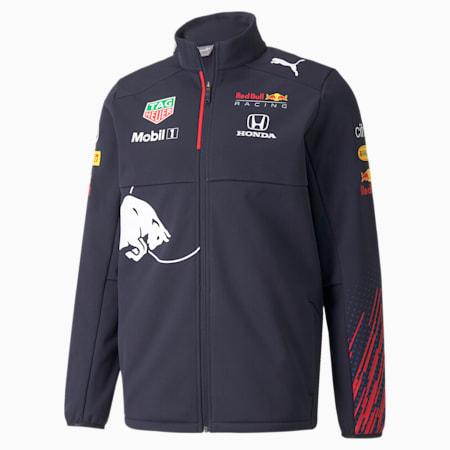 Red Bull Racing Team Softshell Men's Jacket, NIGHT SKY, small