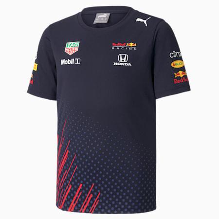 Red Bull Racing Team Jugend Motorsport T-Shirt, NIGHT SKY, small