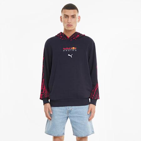 Red Bull Racing hoodie met print heren, NIGHT SKY, small