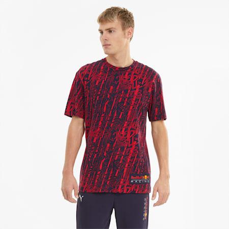 Red Bull Racing Printed Herren T-Shirt, NIGHT SKY, small
