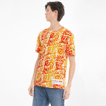 Camiseta Red Bull AOP para hombre, Puma White, pequeño