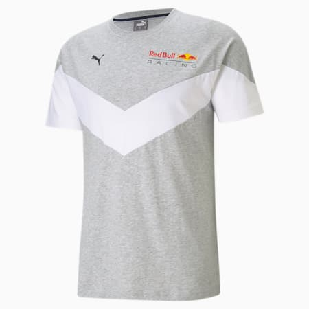 Red Bull Racing MCS Men's Tee, Light Gray Heather, small